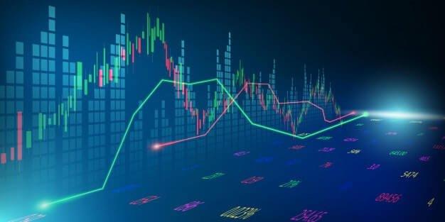 mercado de acoes grafico economico com diagramas conceitos e relatorios financeiros e de negocios conceito abstrato de comunicacao de tecnologia de fundo 29865 1643 - 5 dicas para investimento em ações de tecnologia